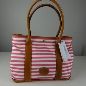 Dooney & Bourke Striped Sullivan Layla Tote Bag 🦆